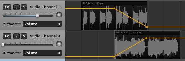 Afbeeldingsresultaat voor audio Fade out/fade in