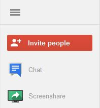 how to send a hangout invite